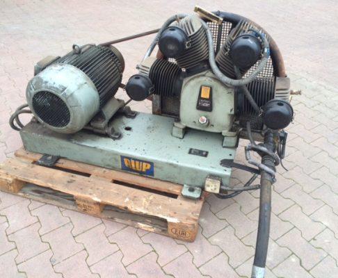 1x Alup Kompressor, Typ: HL4000-E10R