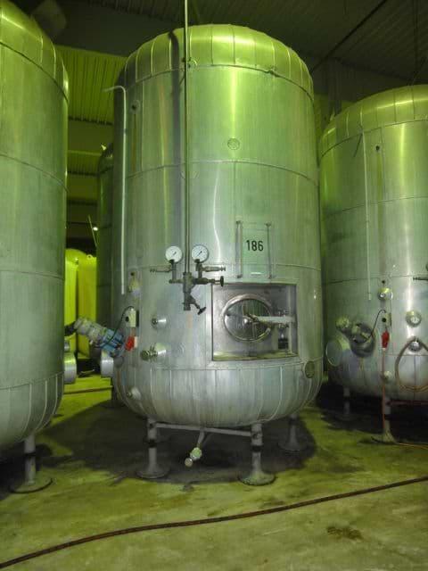 14.000 ltr. Sekt-Drucktank Munk & Schmitz, 8 bar