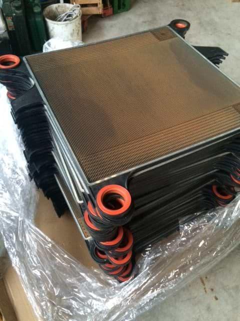 Original Kunststoffplatten für Schichtenfilter Seitz Orion 60×60