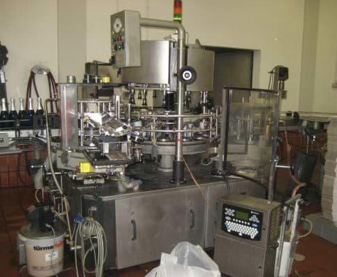 Piccolo Sekt-Füllanlage gebraucht, Anlage 2, Leistung ca. 3.500 Fl./h,  Sparkling Wine Filling Line