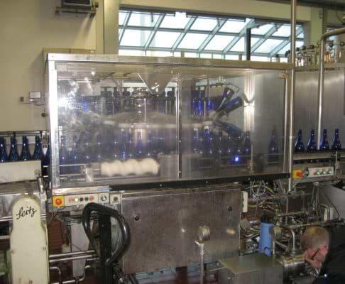 Sekt-Füllanlage gebraucht, Anlage 1, Leistung ca. 5.000 Fl./h,  Sparkling Wine Filling Line