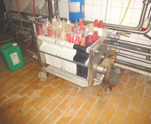 Schichtenfilter Seitz Zenit V