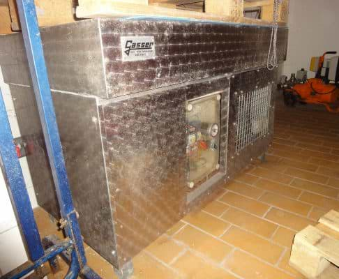 Flaschenhals-Gefrierbad Gasser für 72 Flaschen