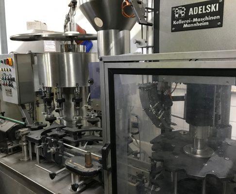 Abfüllanlage für Wein, gebraucht, ca. 1.800 Fl./h