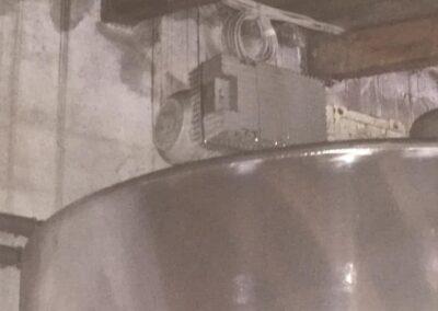 Tank Zusatz verstellbarers Rührwerk